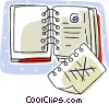 daily scheduler Vector Clipart picture