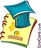 Vector Clipart graphic  of a graduation cap