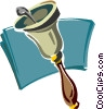 school bell Vector Clip Art picture