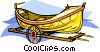 Vector Clipart graphic  of a boat