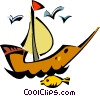 ship Vector Clipart illustration