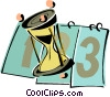 Vector Clip Art graphic  of a calendar