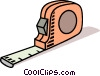 Vector Clipart picture  of a tape measure