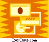 credit cards Vector Clipart illustration