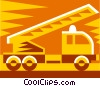 Vector Clipart illustration  of a truck