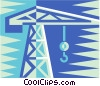 Vector Clipart picture  of a crane