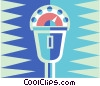 parking meter Vector Clipart illustration