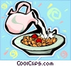 breakfast cereal Vector Clipart picture