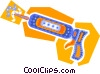 Vector Clip Art image  of a caulking gun
