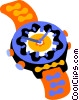 Vector Clipart illustration  of a watch