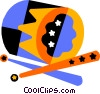 Vector Clip Art picture  of a drum