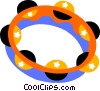 tambourine Vector Clipart image