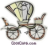 carriage Vector Clip Art picture