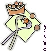 nut cracker Vector Clipart image