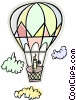 hot air balloon Vector Clipart image