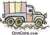 Vector Clipart graphic  of a truck