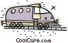 Vector Clipart illustration  of a train