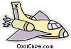 space shuttle Vector Clipart illustration