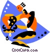 Astrology, Aquarius Vector Clipart picture