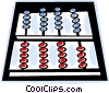 Vector Clipart illustration  of an abacus