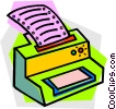 printer Vector Clipart graphic
