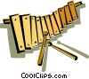 Vector Clipart illustration  of a xylophone