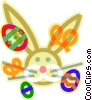 Easter bunny Vector Clipart picture