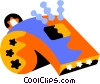 Vector Clipart picture  of a whistle