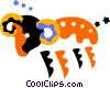 Astrology, Aries Vector Clipart illustration