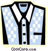 dress shirt Vector Clipart illustration