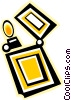 Vector Clipart picture  of a cigarette lighter
