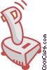 Vector Clipart graphic  of a joy stick