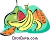 Vector Clipart graphic  of a fruits