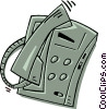 telephone Vector Clipart picture