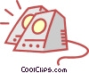 computer speakers Vector Clipart picture
