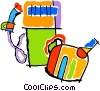 gas pump, gas can Vector Clipart graphic