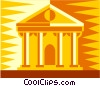 financial institution Vector Clip Art image