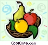 fruits Vector Clipart illustration