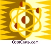 atomic energy Vector Clipart picture