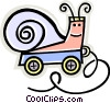 Vector Clipart image  of a child's toy