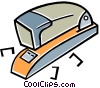 Vector Clipart graphic  of a stapler