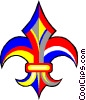 Vector Clipart graphic  of a fleur de lis
