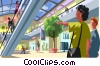 Shopping mall Vector Clip Art picture