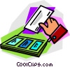 Vector Clipart illustration  of a envelope