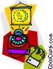 slide projector Vector Clipart picture