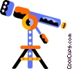 telescope Vector Clipart graphic