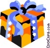 present Vector Clipart graphic