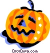 Vector Clipart picture  of a pumpkin