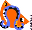 Vector Clip Art picture  of an astrology Leo