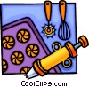 Baking equipment Vector Clipart picture